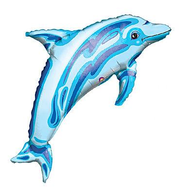 Dolphin Supershape Balloon