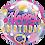 Thumbnail: Birthday Pink and Gold Dots Bubble Balloon