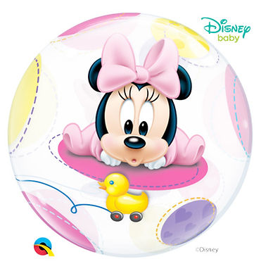 Minnie Mouse Baby Bubble Balloon