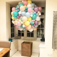Custom hot air balloon display