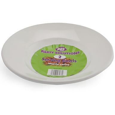 27cm White Serving Bowls