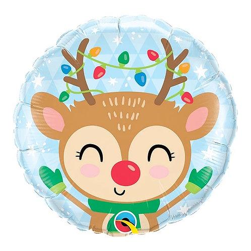 18 inch Reindeer Foil Balloon