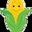 "Thumbnail: Produce Pal Corn 27"" Foil Balloon"
