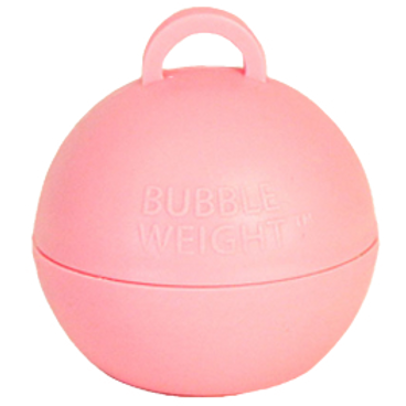 Light Pink Bubble Balloon Weight