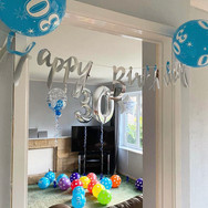 30th Birthday Balloon Decorations