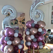 Personalised Balloon towers