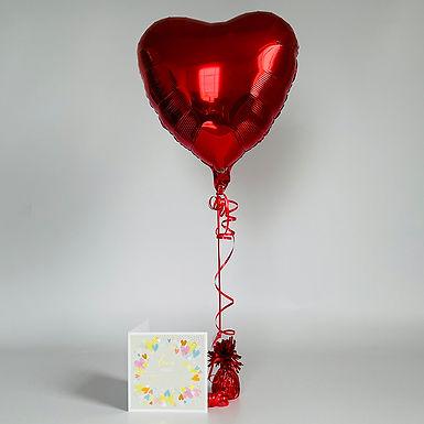 """I love you so much"" Card & Balloon Combo"