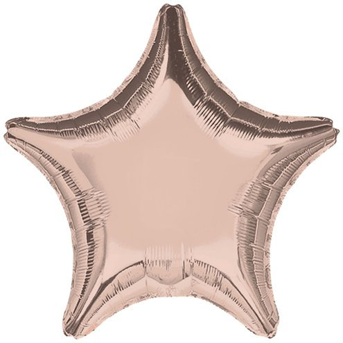 Rose Gold 18 inch Star Foil Balloon