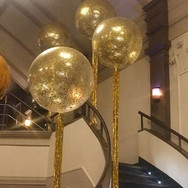 3ft confetti filled Latex Balloons