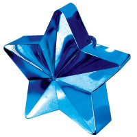 Dark Blue Star Balloon Weight
