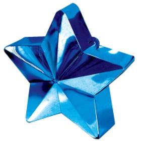 Dark Blue Star Balloon Weight