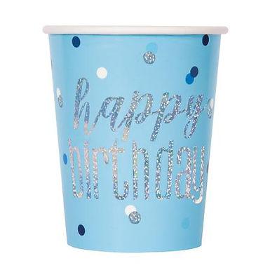 Glitz Blue Party Cups