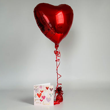 """""""You are so loved"""" Card & Balloon Combo"""