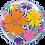 Thumbnail: Birthday Flowers & Filigree Bubble Balloon