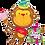 "Thumbnail: Birthday Monkey 49"" Foil Balloon"