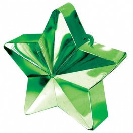 Green Star Balloon Weight