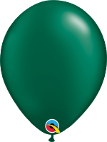"Pearl Forest Green 11""Latex Balloon"