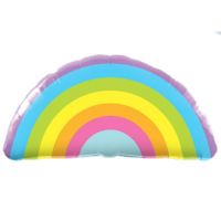 Radiant Rainbow Supershape Balloon