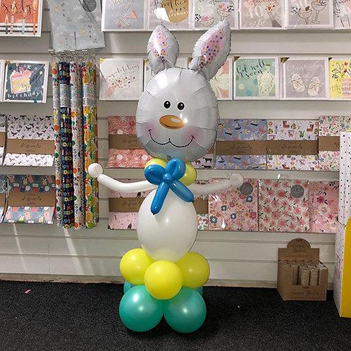 Boy Bunny Easter Balloon Display