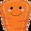 "Thumbnail: Produce Pal Carrot 31"" Foil Balloon"