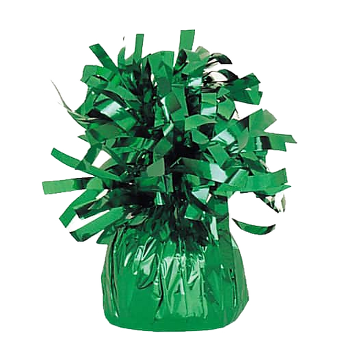 Dark Green Tinsel Bomb Balloon Weight