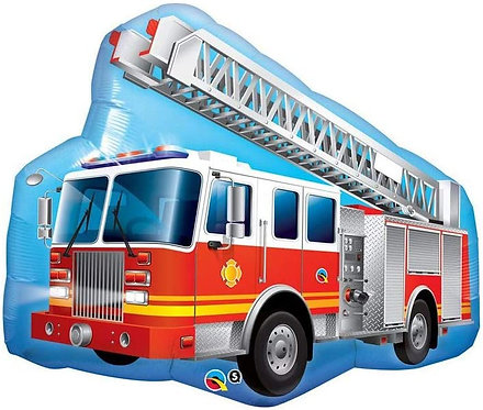 Fire Engine Supershape Balloon