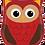 "Thumbnail: Woodland Critters Owl 26""Foil Balloon"