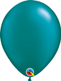 "Pearl Teal 11"" Latex Balloon"