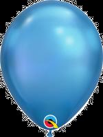 """Chrome Blue 11"""" Latex Balloon"""