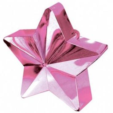 Light Pink Star Balloon Weight