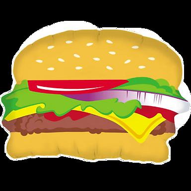 """Hamburger 28"""" Foil Balloon"""