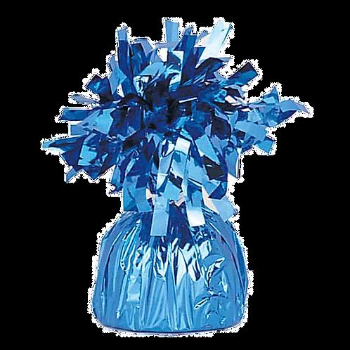 Light Blue Tinsel Bomb Balloon Weight