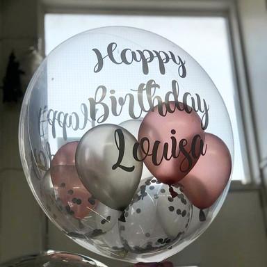Personalised Birthday Bubble Balloon