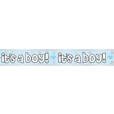 It's a Boy Banner