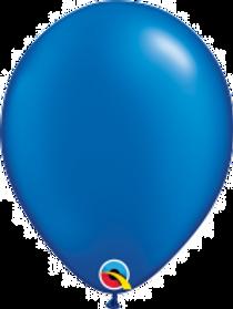 """Pearl Sapphire Blue 11"""" Latex Balloon"""