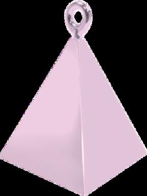 Light Pink Pyramid Balloon Weight