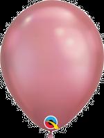 "Chrome Mauve 11"" Latex Balloon"