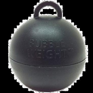Black Bubble Balloon Weight