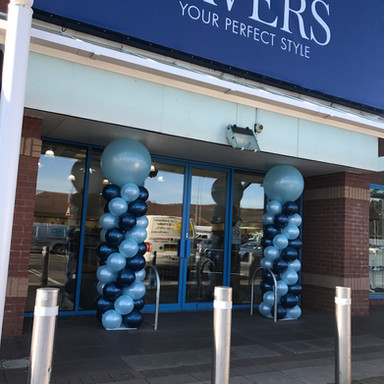 Pavers Malvern sprial balloon columns