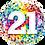 Thumbnail: Colourful Milestone Birthday Balloons