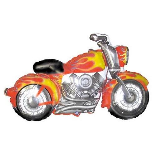 "45"" Motorbike Supershape Foil Balloon - Helium Filled"