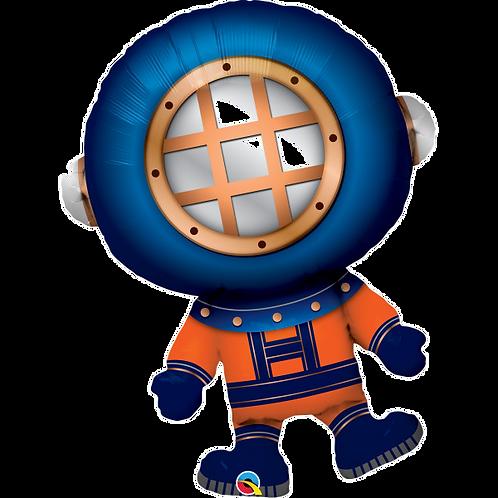 """Deep Sea Diver 37"""" Foil Balloon"""