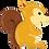 "Thumbnail: Woodland Critters Squirrel 36"" Foil Balloon"