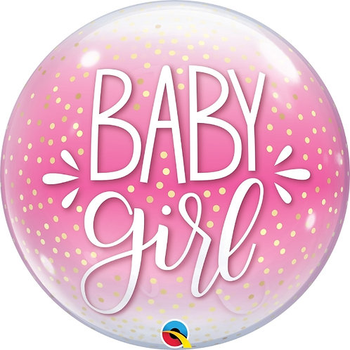 Baby Girl Bubble