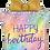 "Thumbnail: Opal Birthday Present 27"" Foil Balloon"