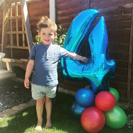 Balloon Number 4 Display