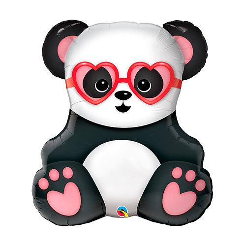 Love Struck Panda Supershape Balloon