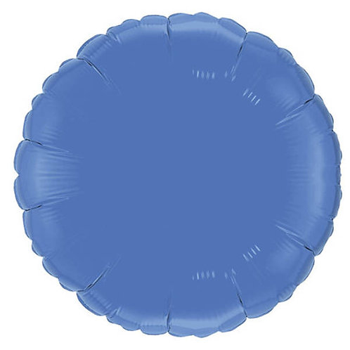Periwinkle 18 inch Circle Foil Balloon