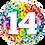 Thumbnail: Colourful Age Balloon