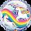 Thumbnail: Happy Birthday Magical Unicorn Bubble Balloon
